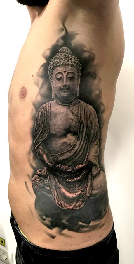 budha-black-grey