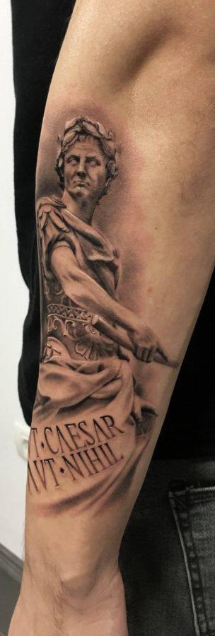 caesar-tattoo