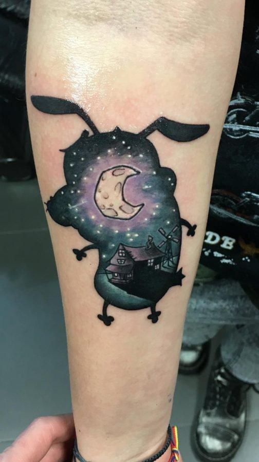courage-the-dog-tattoo
