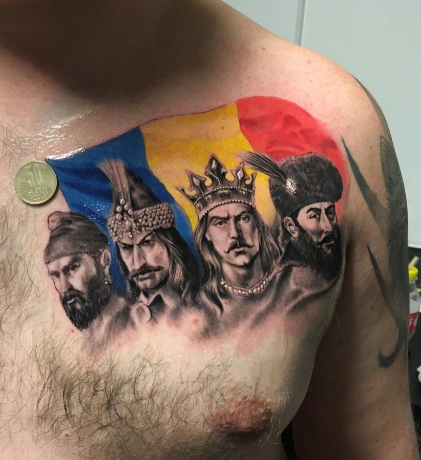 domnitori-steag-tatuaj