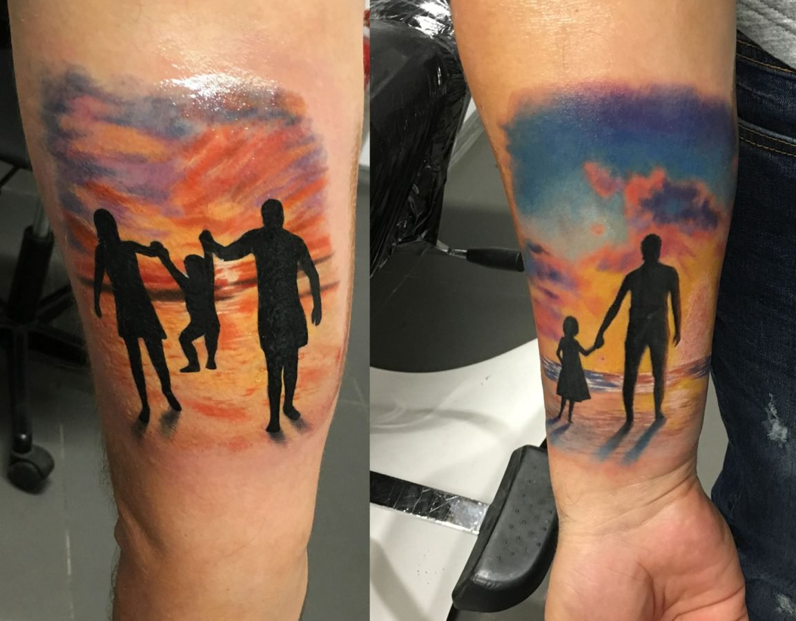family-color-tattoo