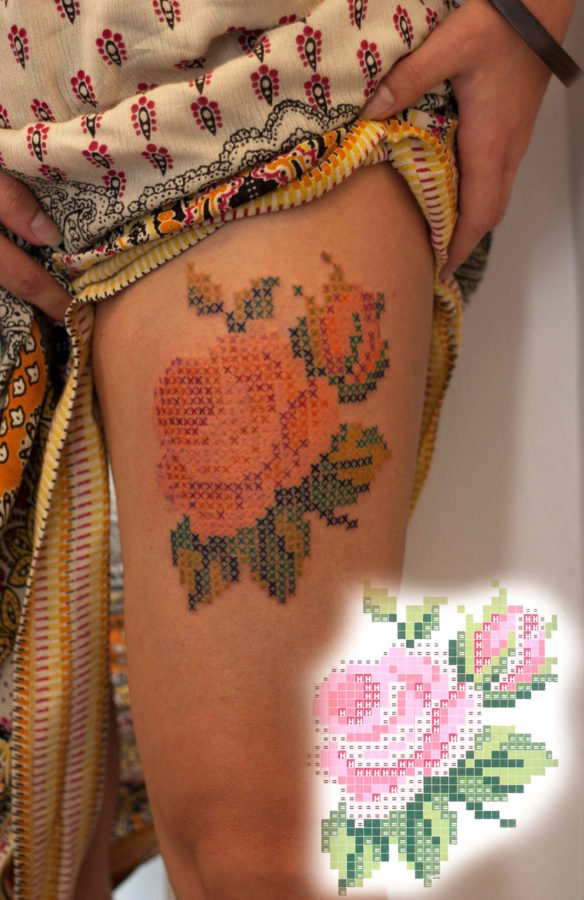 floare-broderie-tatuaj
