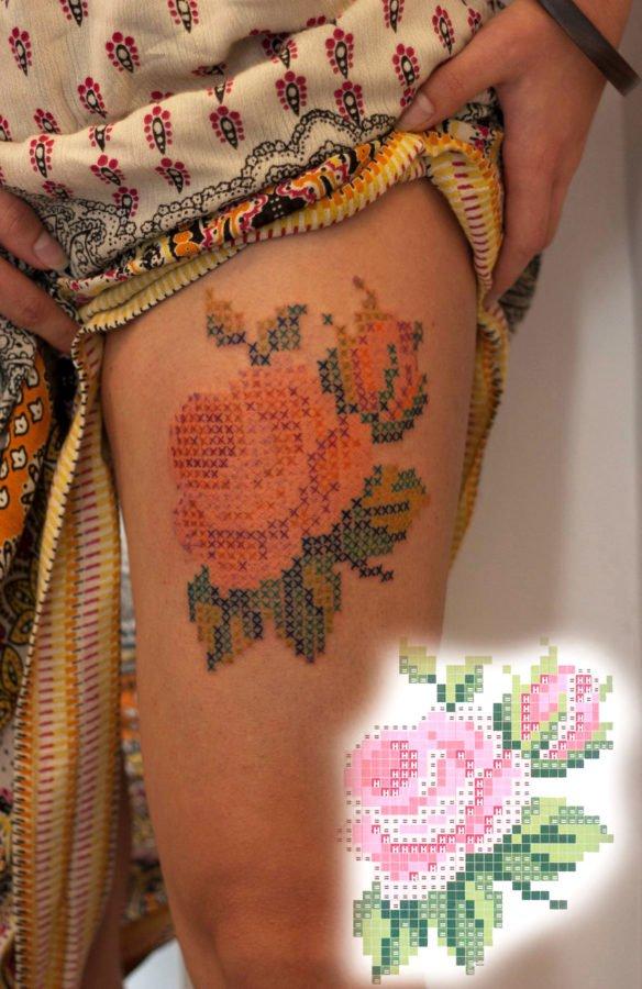 floare-broderie-tatuaj