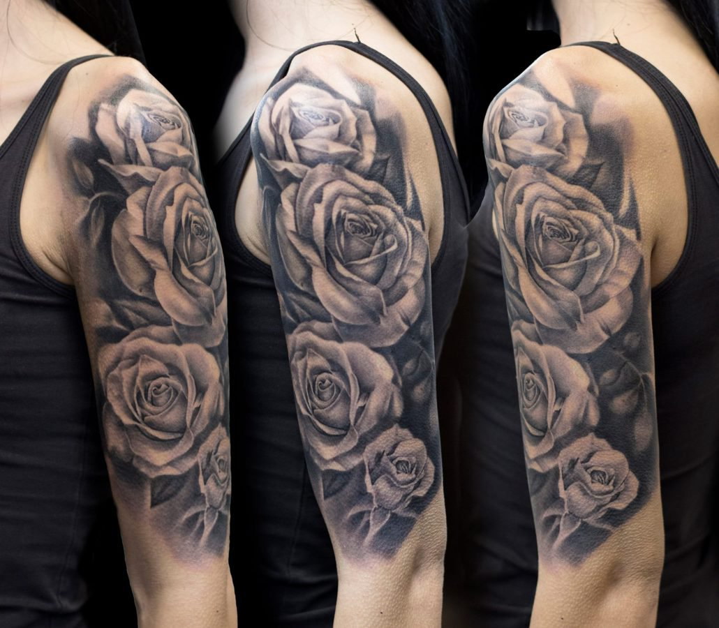 flowers-roses-tattoo