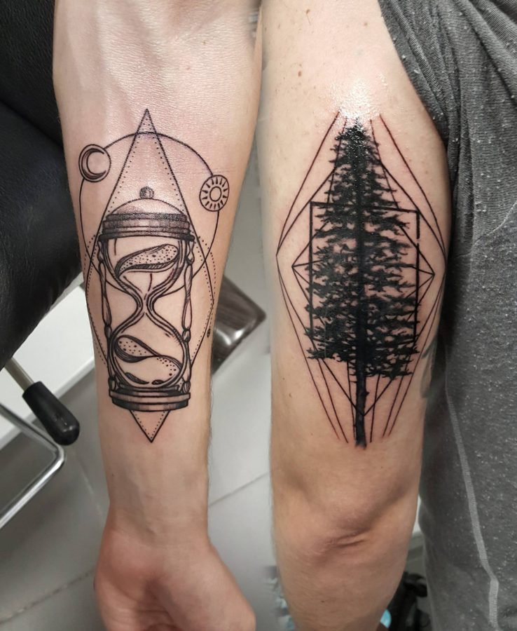 geometric-design-tattoo