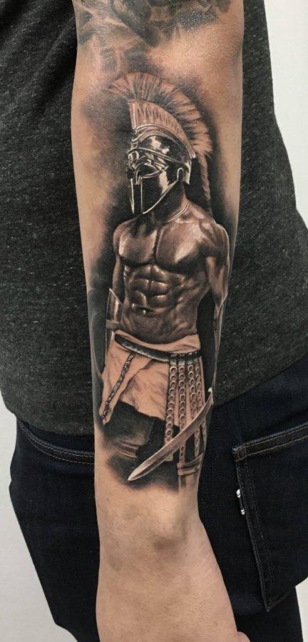 gladiator-antebrat-tatuaj