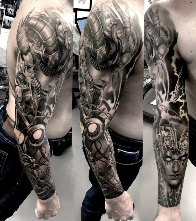 human-mecanical-arm