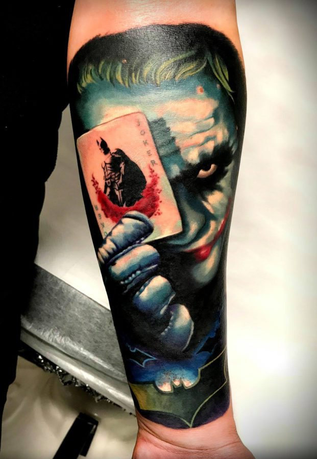 joker-batman-color-tattoo