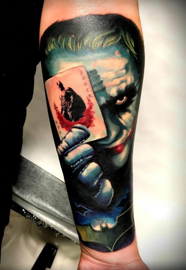 joker-batman-color-tattoo