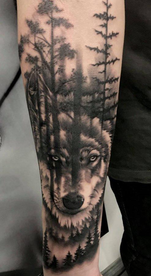 lup-padure-tatuaj