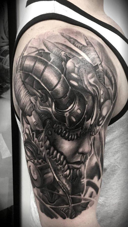 mecanical-human-tattoo