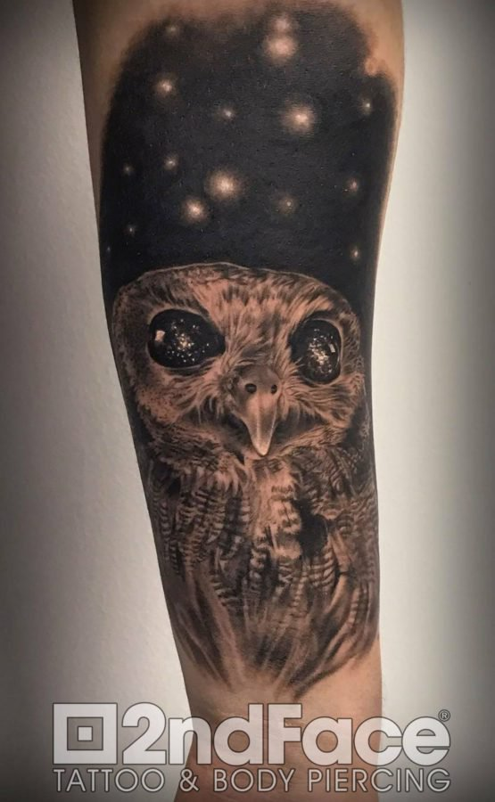 owl-space-tattoo