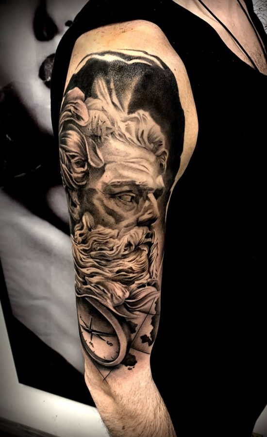 poseidon-king-tattoo