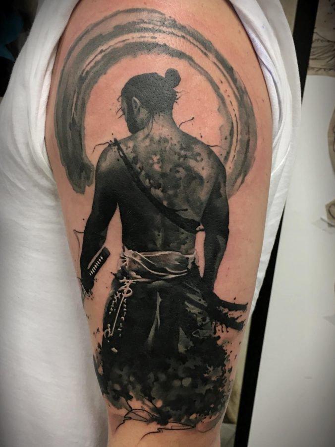 samurai-luptator-tatuaj