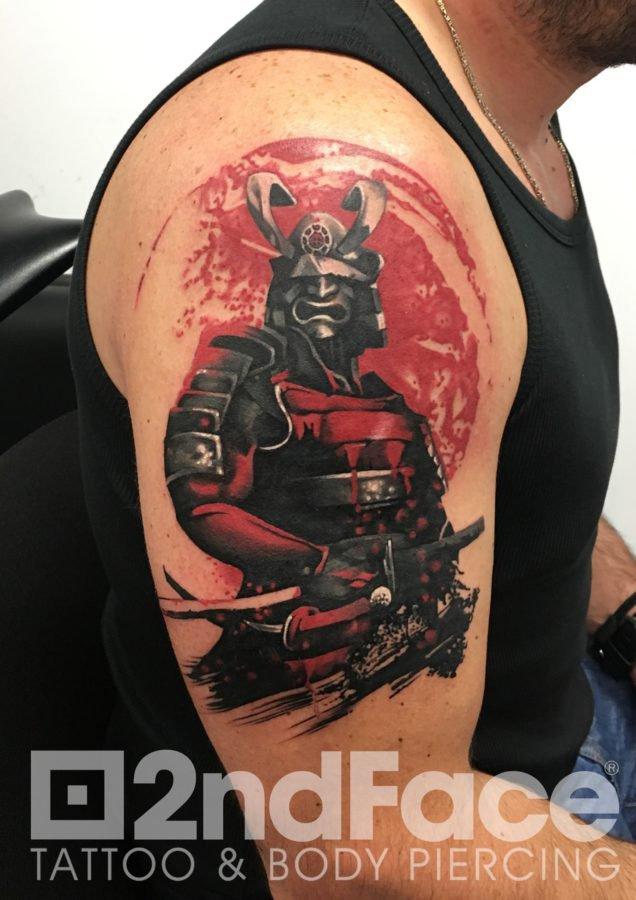samurai-warrior-red