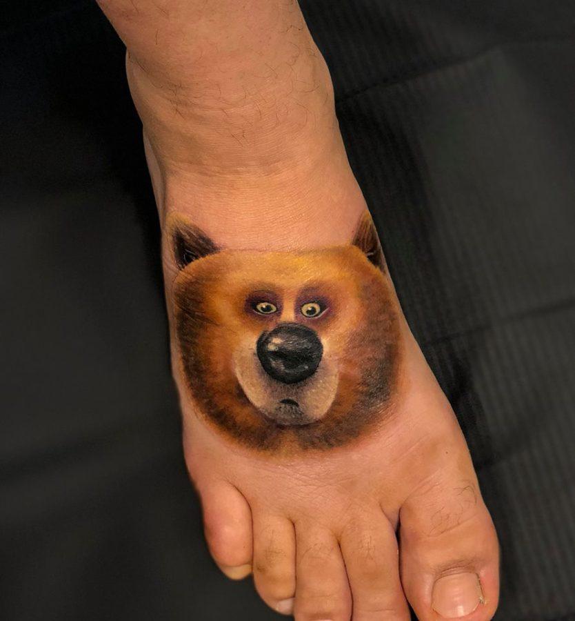 tatuaj-color-portret-urs