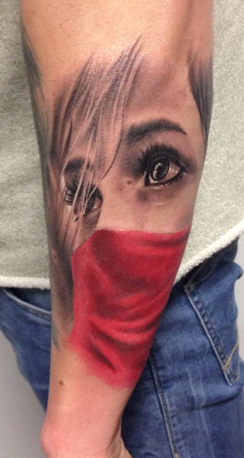 women-mask-tattoo