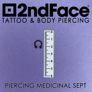 piercing sept negru